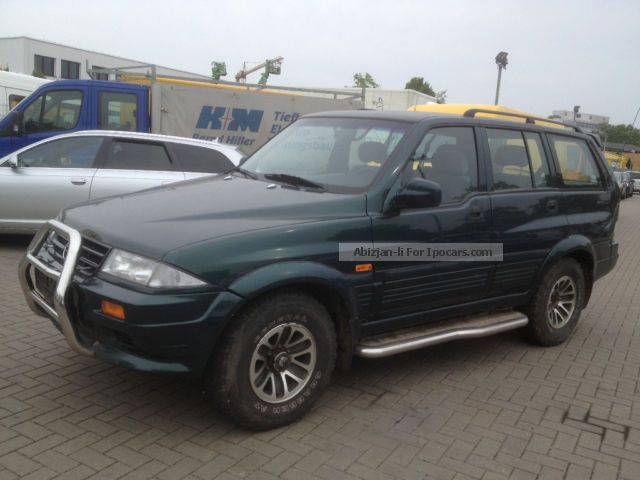 1998 Ssangyong Musso #11