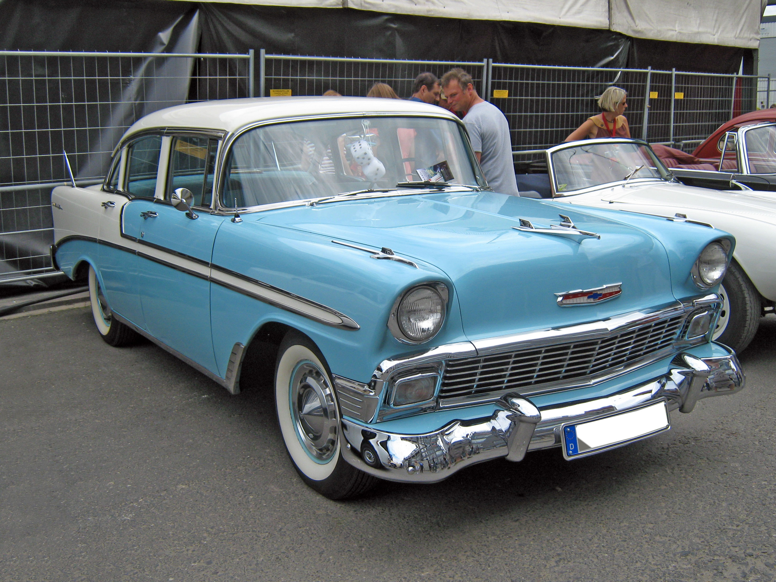 1956 Chevrolet Bel Air #1