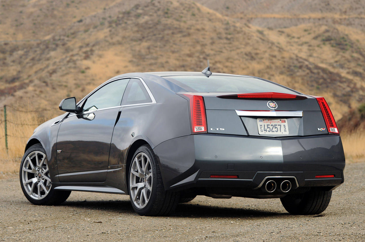 2012 Cadillac Cts Coupe #2
