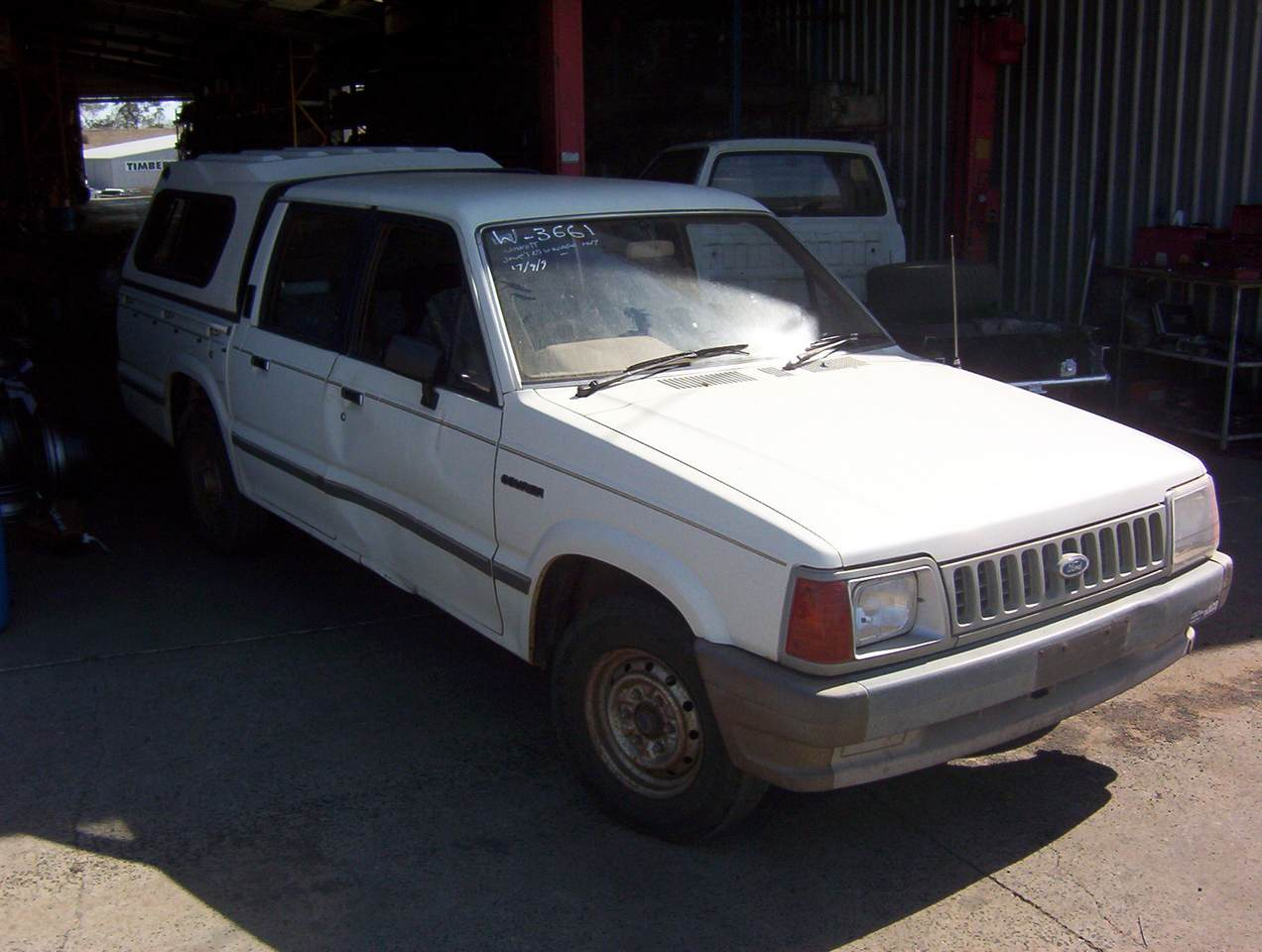 1986 Ford Courier #7