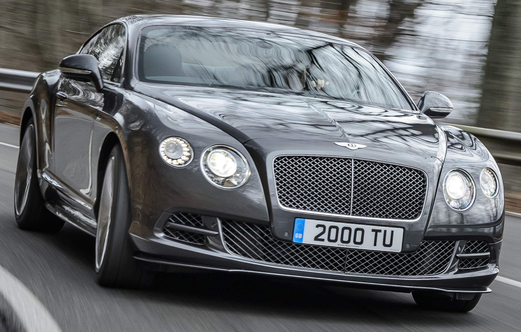 2014 Bentley Continental Gt Speed #9
