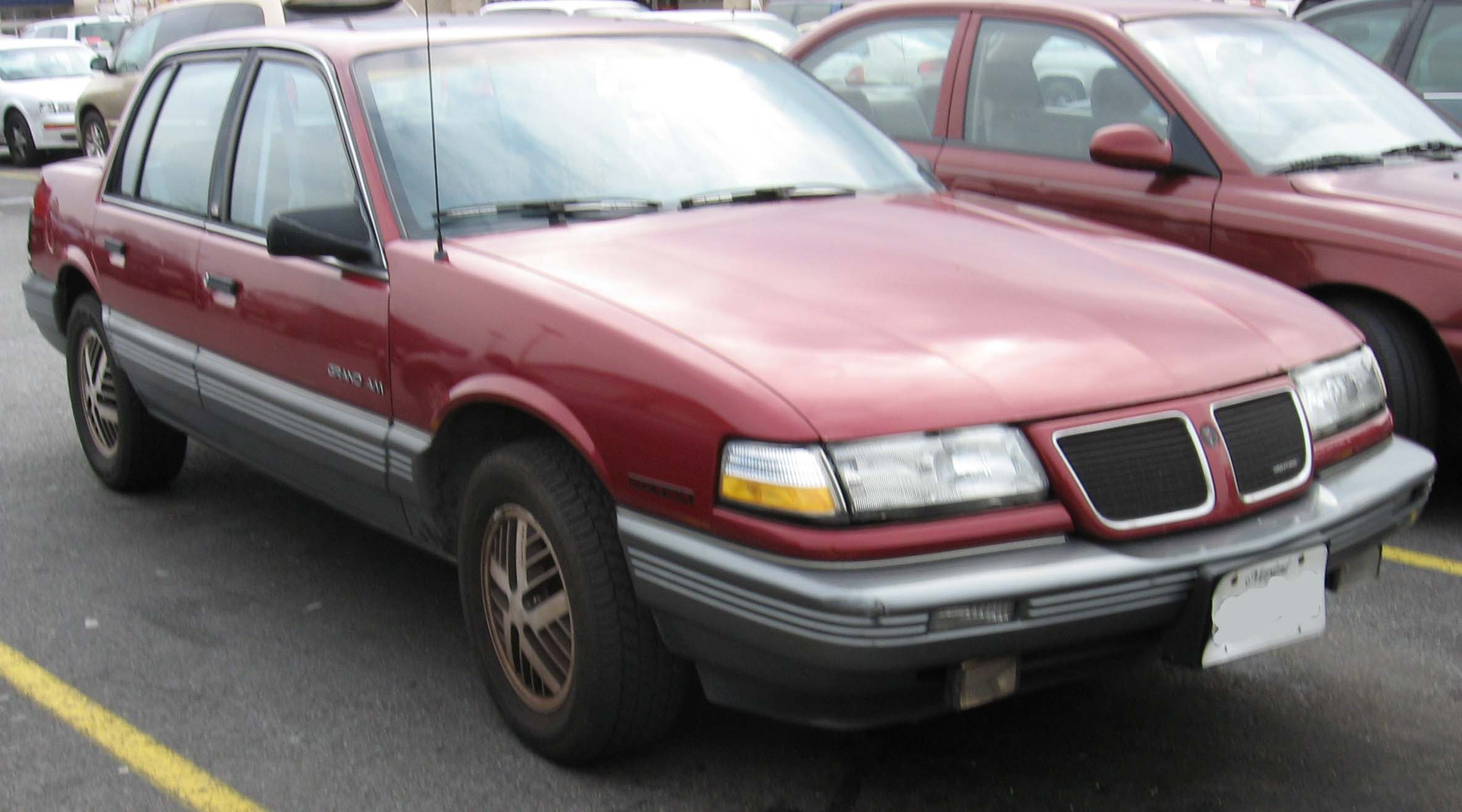 1991 Pontiac Grand Am #4