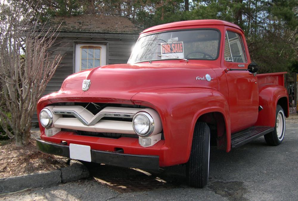 1955 Ford F #1