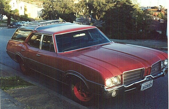1971 Oldsmobile Vista Cruiser #16