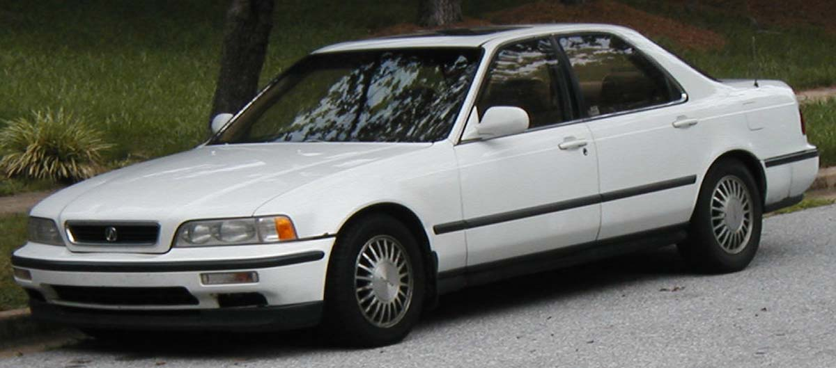 1991 Honda Legend #11