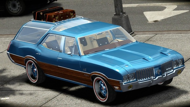 1972 Oldsmobile Vista Cruiser #11