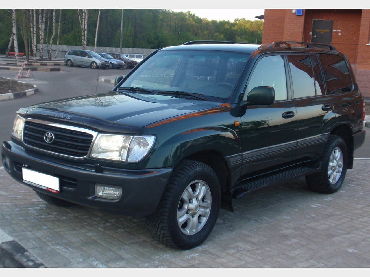 2002 Toyota Land Cruiser #8
