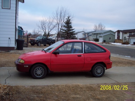 1994 Ford Aspire #8