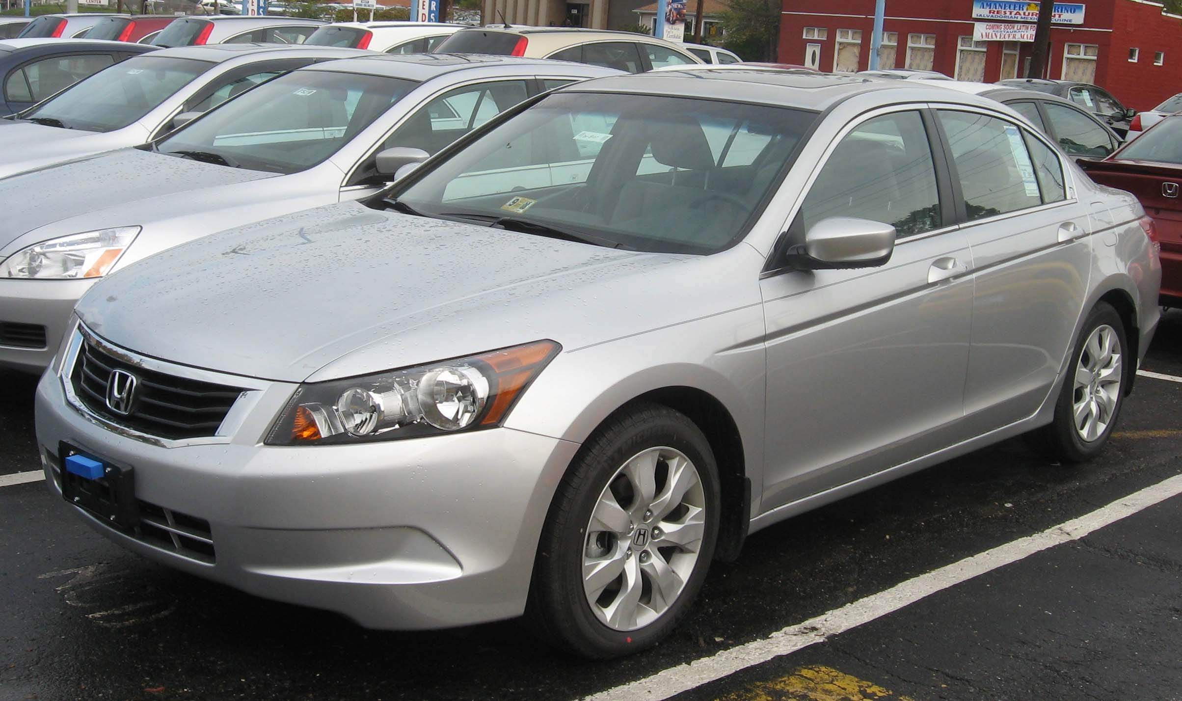 2008 Honda Accord #8