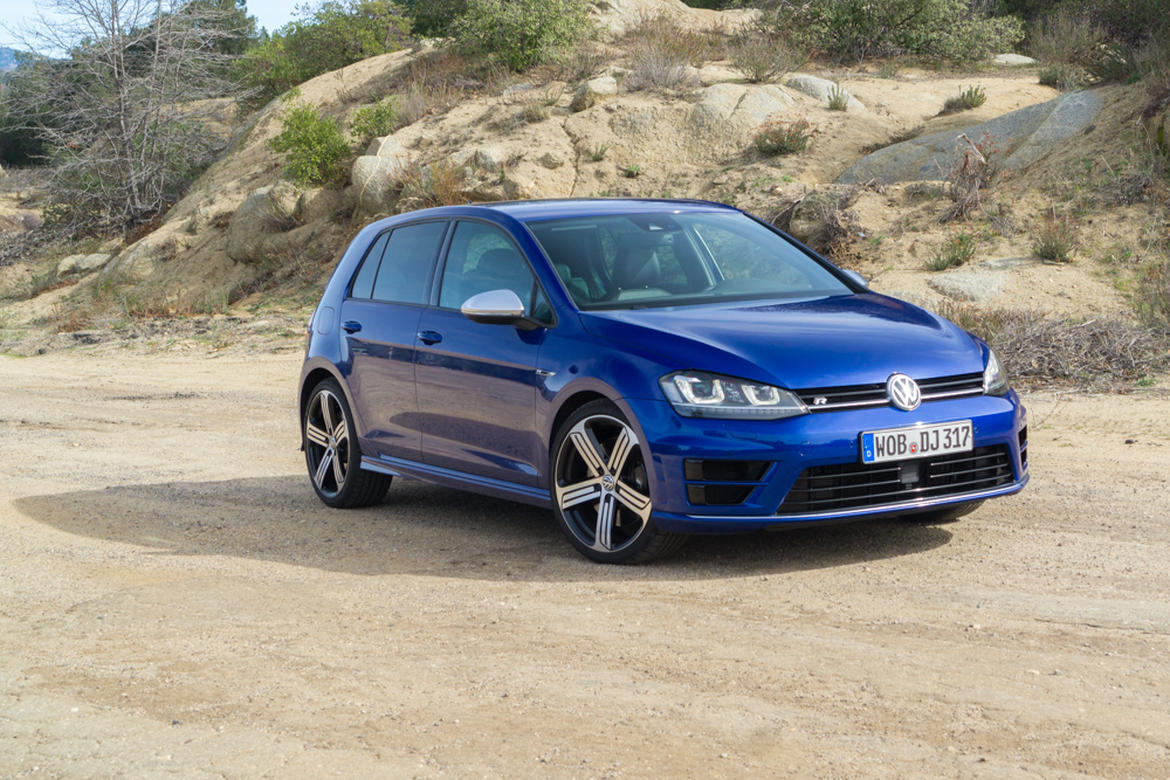 2015 Volkswagen Golf R #6