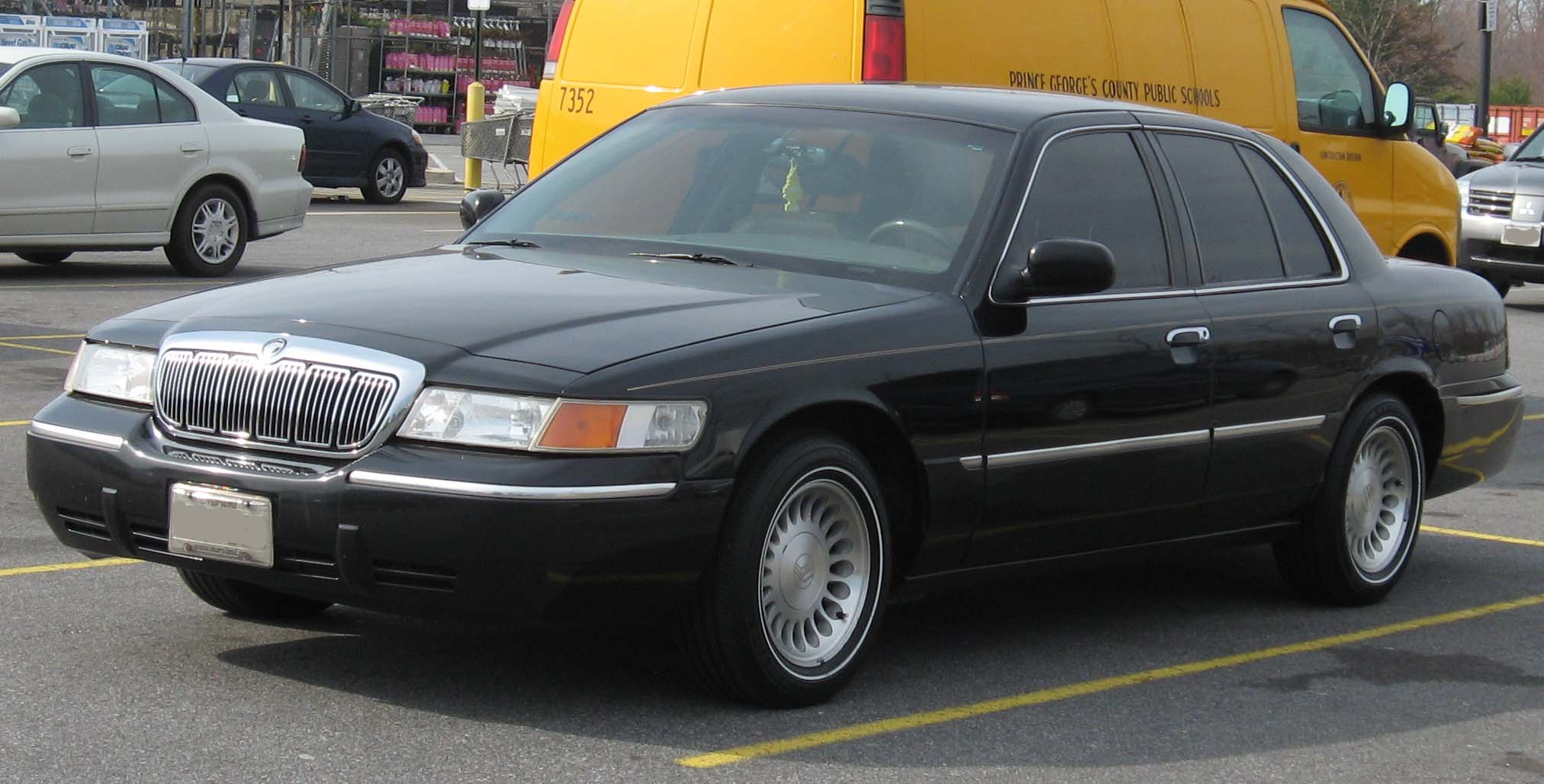1998 Mercury Grand Marquis #6