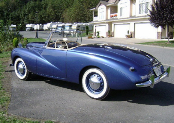 1953 Sunbeam Alpine #6