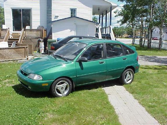 1997 Ford Aspire #6