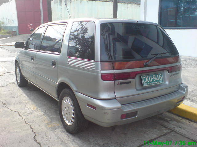 1992 Mitsubishi Space Wagon #10