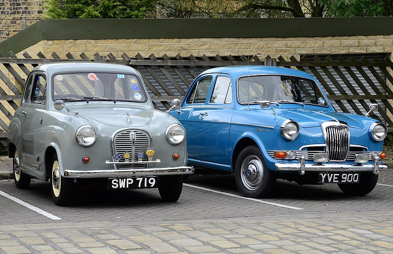 1961 Riley One-Point-Five #11