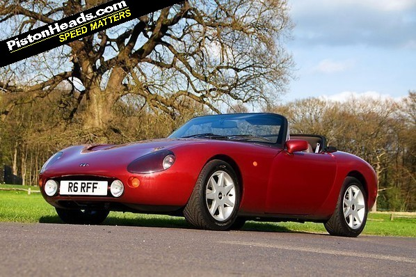 1990 TVR Griffith #7