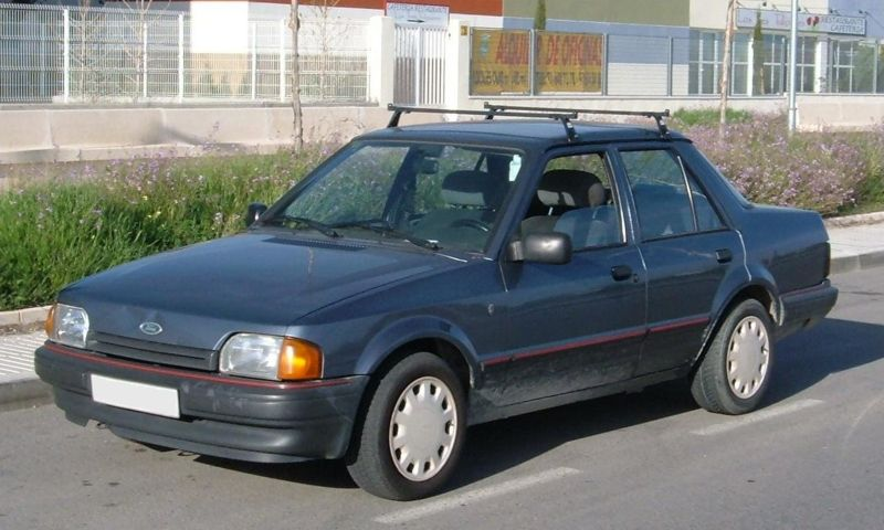 1989 Ford Orion #7