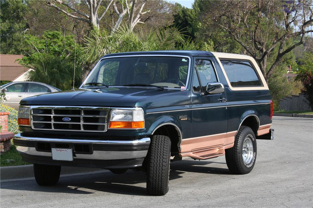 1995 Ford Bronco #9
