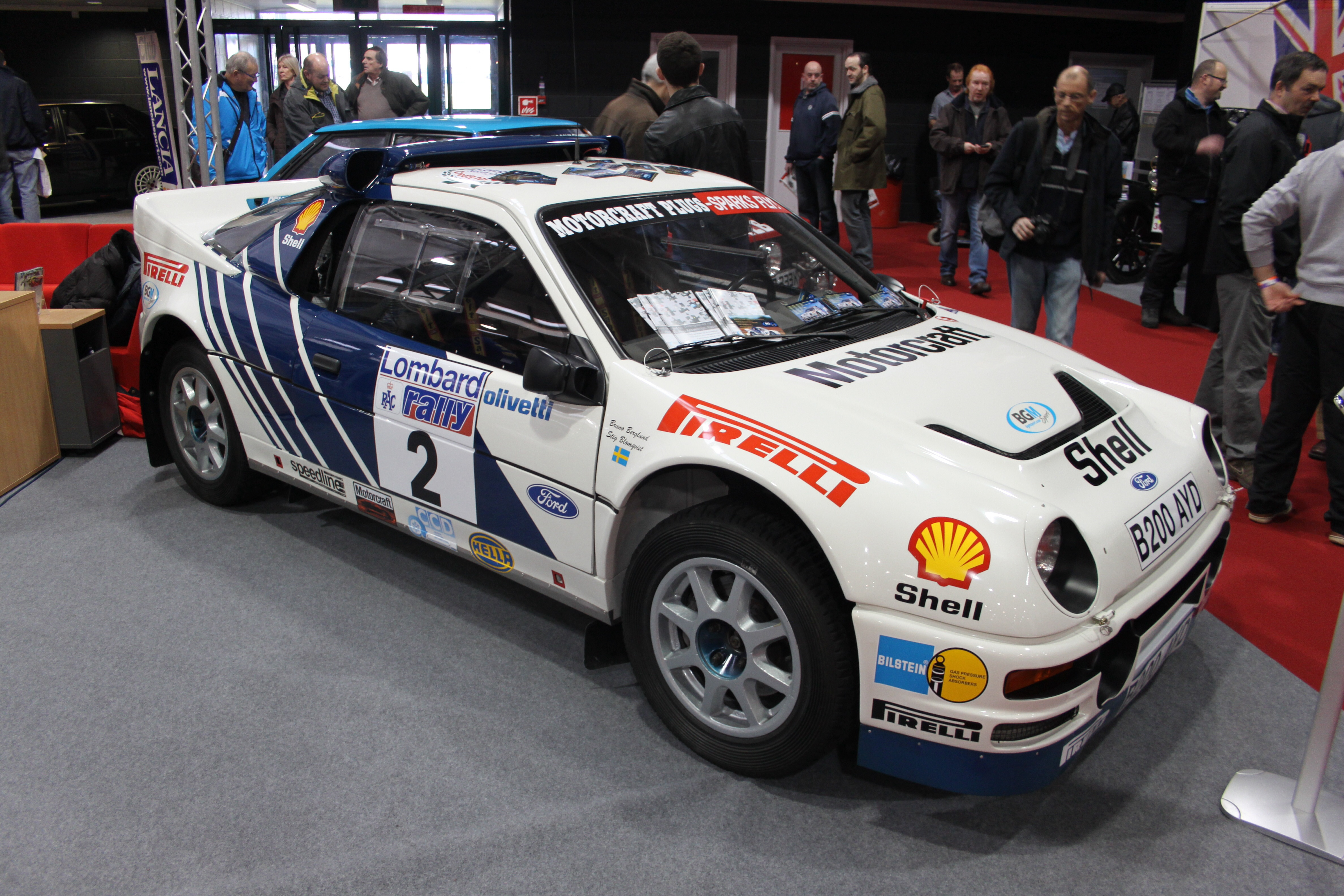 1990 Ford RS 200 #7