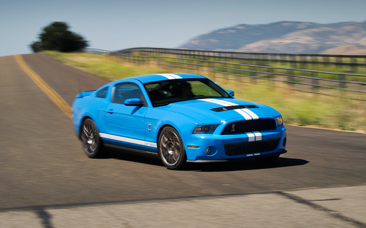 2011 Ford Shelby Gt500 #9
