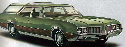 1969 Oldsmobile Vista Cruiser #13