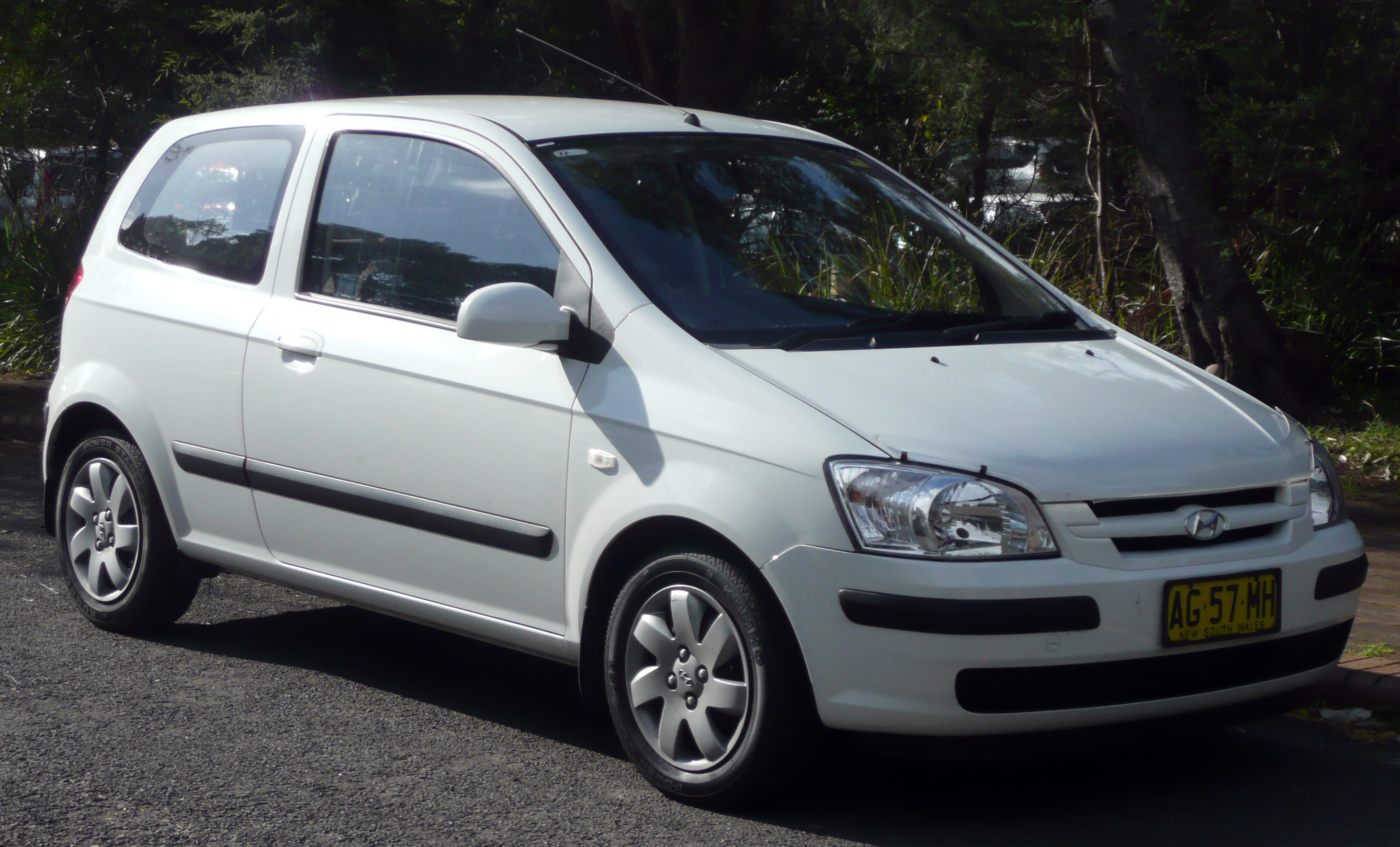 2003 Hyundai Getz Photos Informations Articles