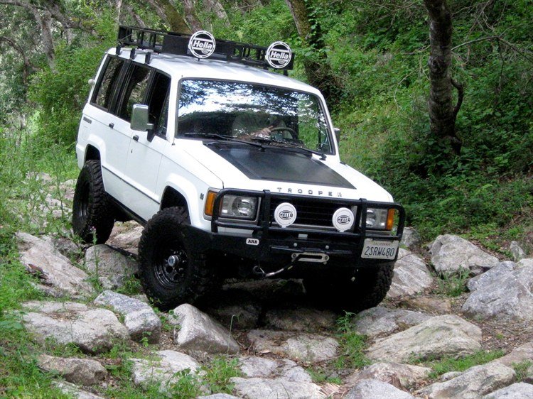 Isuzu Trooper #17
