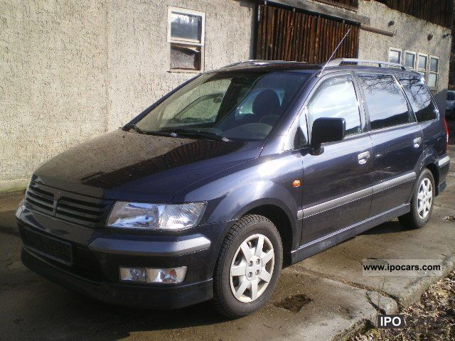 2001 Mitsubishi Space Wagon #2