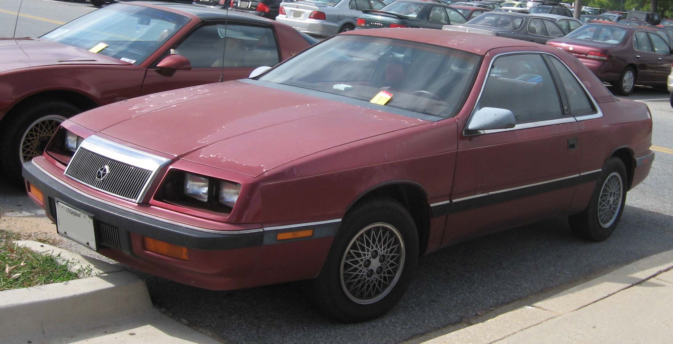 1992 Chrysler Le Baron #15