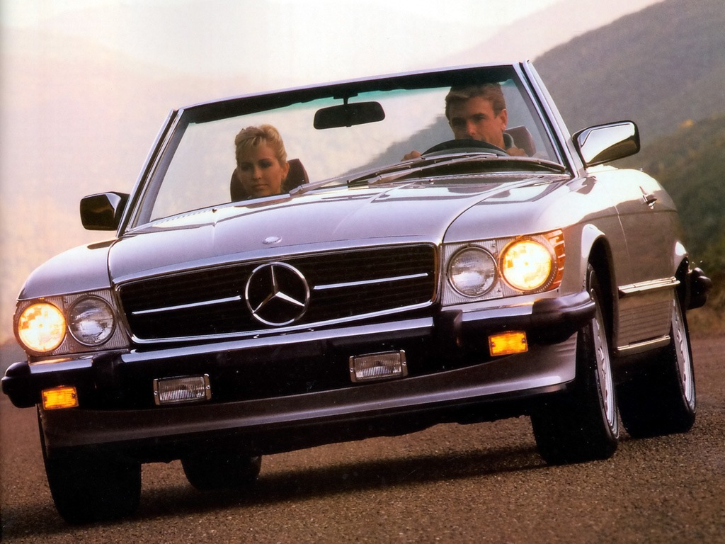 1989 Mercedes-Benz SL #6