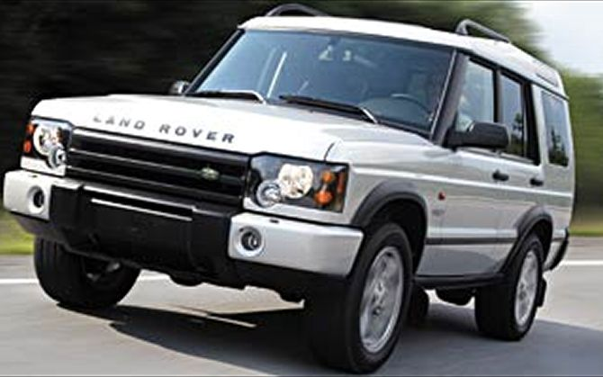 2003 Land Rover Discovery #14