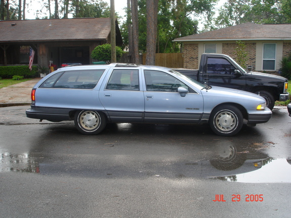1991 Oldsmobile Custom Cruiser #8