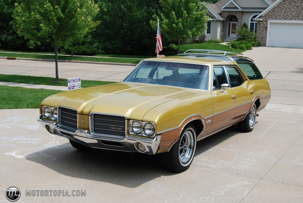 1971 Oldsmobile Vista Cruiser #10