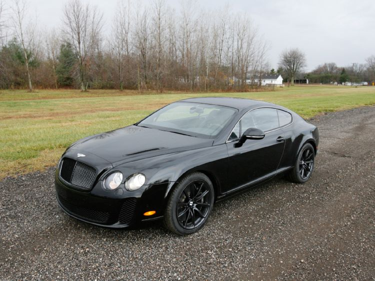 2010 Bentley Continental Supersports #16