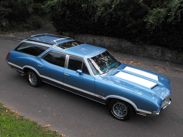 1971 Oldsmobile Vista Cruiser #12
