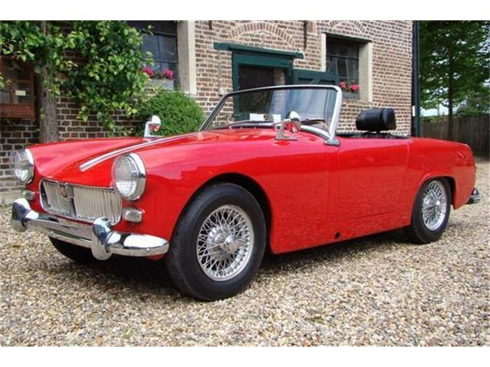 1962 mg midget photos informations articles for Garage ford 62