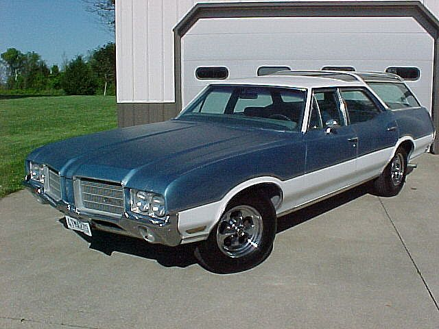 1971 Oldsmobile Vista Cruiser #11
