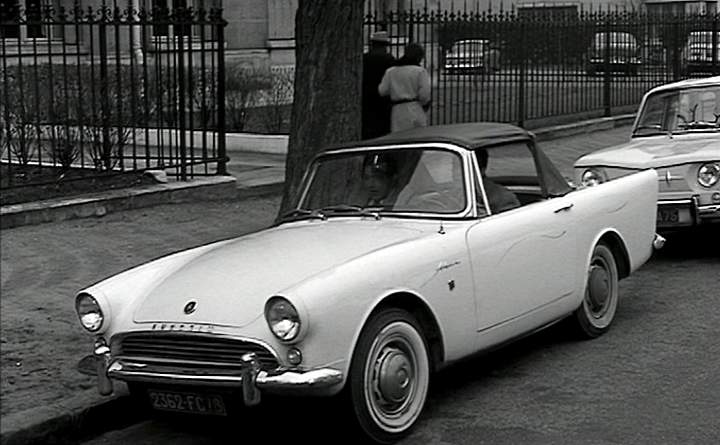 1963 Sunbeam Alpine #3