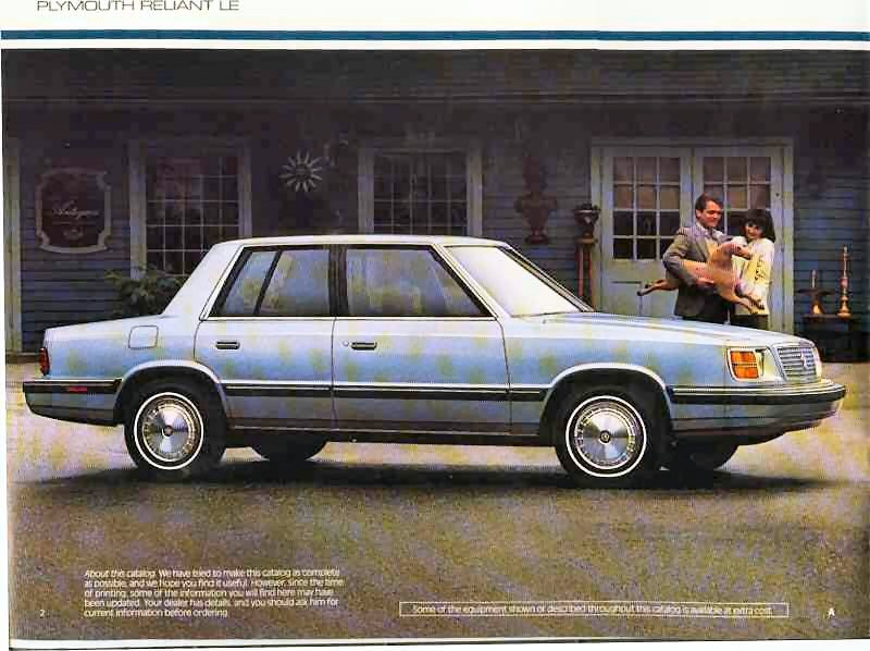 1985 Plymouth Reliant #2