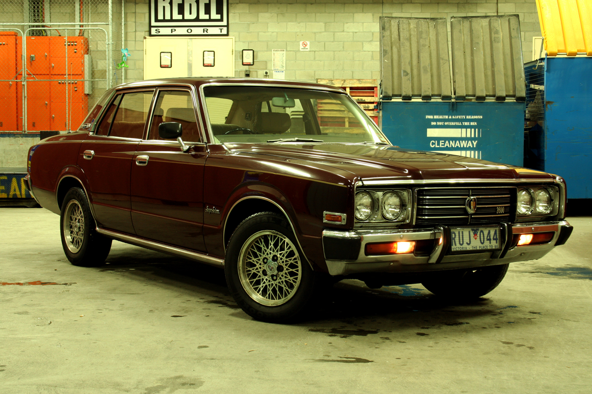 1977 Toyota Crown #9
