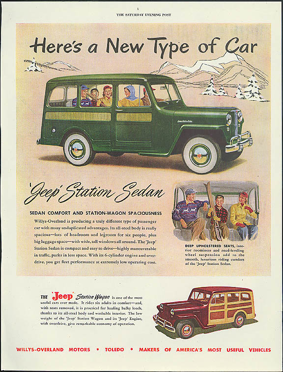 1948 Jeep Station Wagon #8