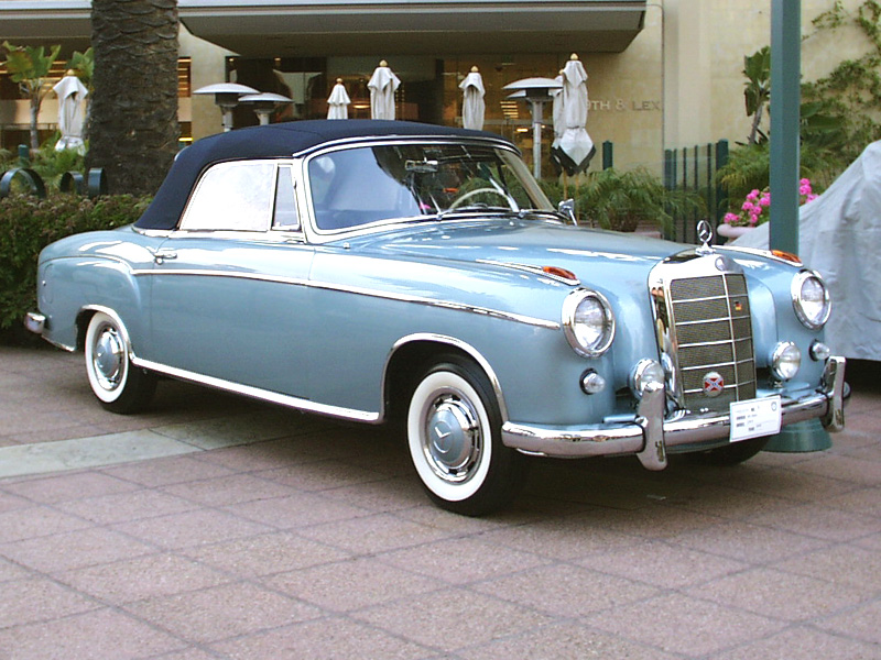 1959 mercedes benz 220 photos informations articles for 1959 mercedes benz 220s