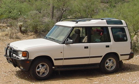 1996 Land Rover Discovery #6