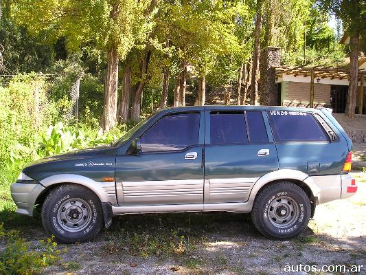 1997 Ssangyong Musso #9