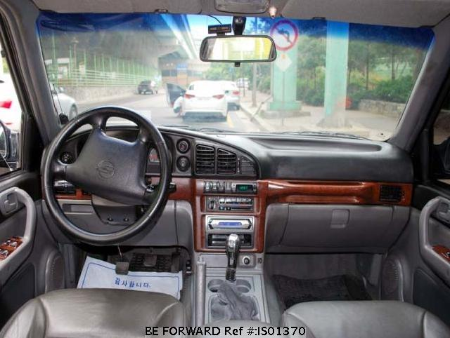 2000 Ssangyong Musso #8