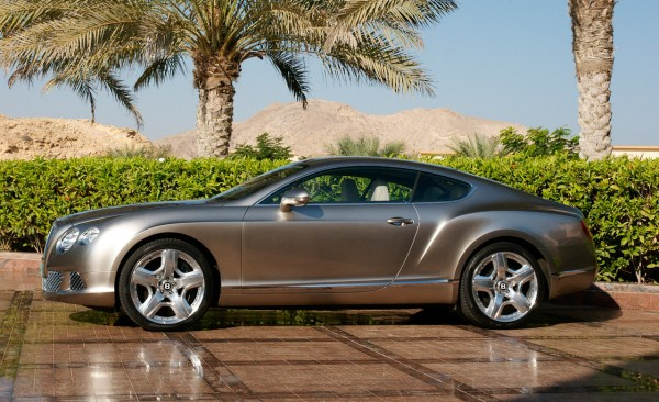 2012 Bentley Continental Gt #5
