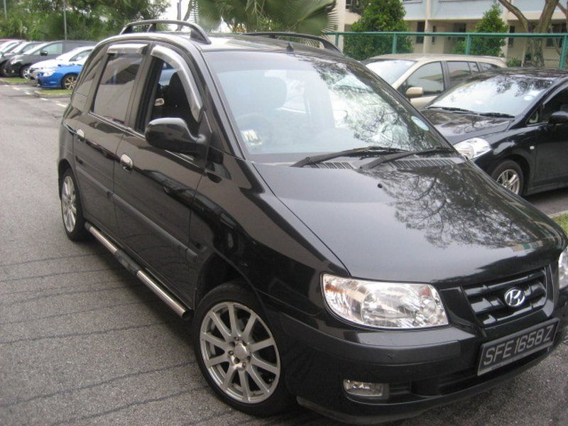 2004 Hyundai Matrix #6