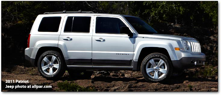 2011 Jeep Patriot #12