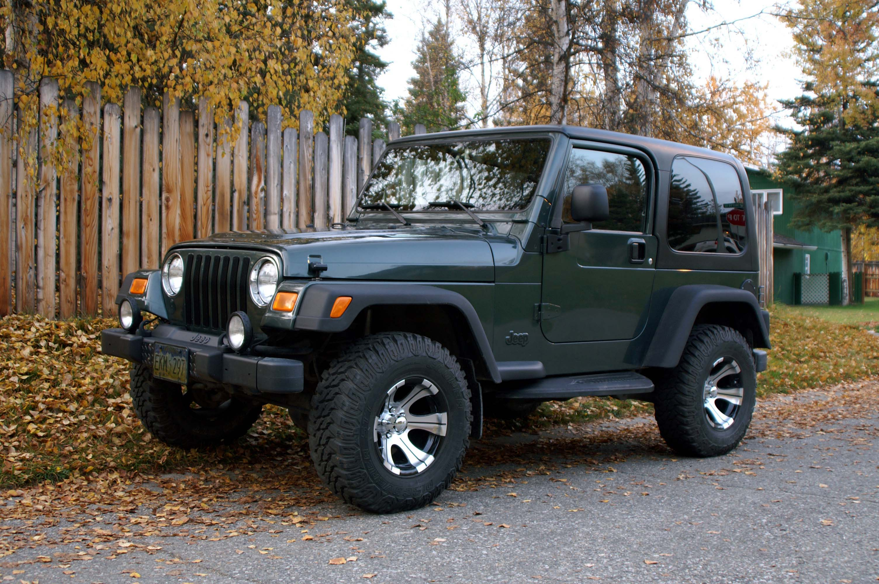 2003 Jeep Wrangler Photos Informations Articles