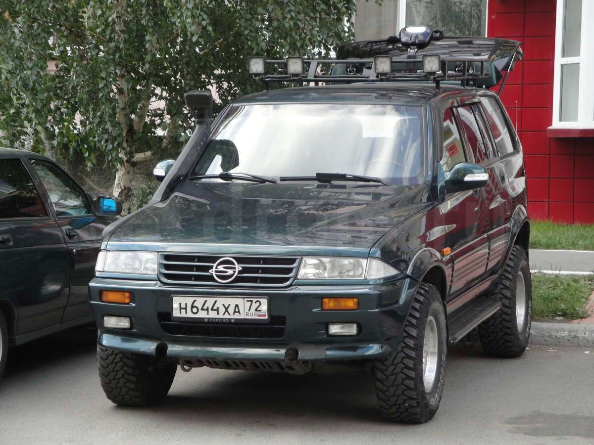 1997 Ssangyong Musso #8